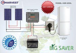 Big Saver Fridge: Al Taaraf group (Solar Division)